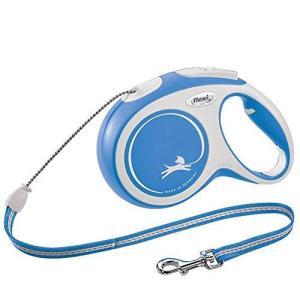 フレキシ (flexi) ニューコンフォート 2020 コード S(12kg未満) 8m ブルー [犬用リード]|inkgekiyasu