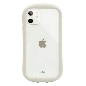 グランサンク i select clear iphone12 mini ケース 【 オフホワイト 】 ISE-14OWH|inkgekiyasu