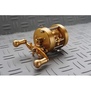 五十鈴工業 ベイトリール BC710HDLA (GOLD/IP GOLD)|inkgekiyasu