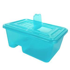 ルナリ 亀 水槽 タートルタンク 爬虫類 両生類 飼育ケース ケージ ボックス プラスチック テラリウム カメ 産卵|inkgekiyasu
