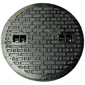 鋳鉄製 マンホール フタ 乗用車荷重(約2t車)マンホール 浄化槽 蓋のみ 穴径500mm (フタ径545mm) MK-1-500 inkgekiyasu