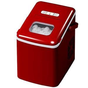 UP STORE 高速製氷機 家庭用 取っ手付き 最短8分 1日12kg ボタンを押すだけで氷が出来る パワフル氷製造機 コンパクトな卓上型|inkgekiyasu