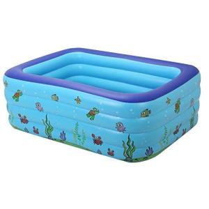 プール 子供用プール ビニールプール ベビープール 安全無毒 三つ気室 水遊び ファミリープール ビニールプール おもちゃ 夏の日 芝生遊び 家庭用|inkgekiyasu