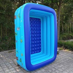 seacan_jp 子供用プールビニールプール 大型 子供・大人 オーバルプール ジャンボファミリープール ベビープール 水遊び 猛暑対策 スイミング|inkgekiyasu