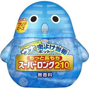 ウナ 虫よけ当番ポット スーパーロング 210日間 無香料|inkgekiyasu