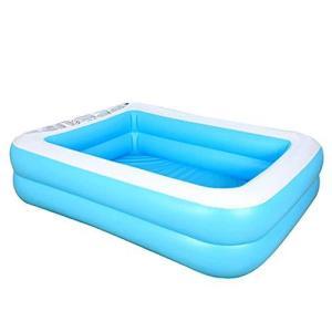 子供用プール 大型 ビニールプール ファミリープール 子供・大人 水遊び 猛暑対策 スイミング 空気入れ必要 家庭用プール 折りたたみ プール 屋内用|inkgekiyasu