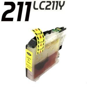 ブラザー インク LC211 インク LC211Y イエロー単品 ブラザープリンターインクカートリッジ DCP MFC inkhonpo