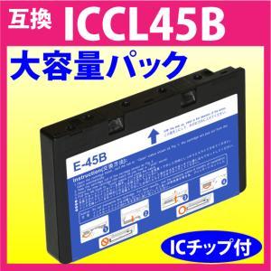 エプソン ICCL45B 対応互換インク 4色一体(大容量)タイプ  EPSON 対応機種: E-3...