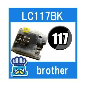Brother ブラザー LC117-BK ブラック  単品 互換インクカートリッジ DCP-J4215N DCP-J4210N MFC-J4510N|inkoukoku