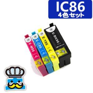プリンターインク エプソン IC86 4色セット IC4CL...