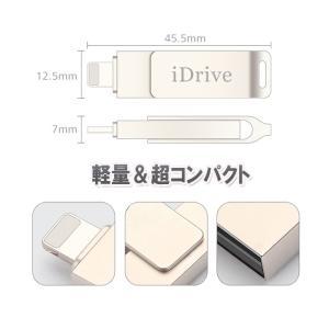 iPhone USBメモリ フラッシュ ドライブ 2-in-1 32gb iDragon 容量不足解消 アイフォン Windows PC MAC 対応 inkoukoku 06