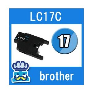 Brother ブラザー LC17-C シアン  単品 互換インクカートリッジ  MFC-J6510DW MFC-J6710CDW MFC-J6910CDW MFC-J5910CDW inkoukoku