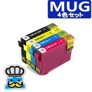 プリンターインク エプソン MUG 4色セット MUG-4CL 互換インク マグカップ EPSON MUG-BK MUG-C MUG-M MUG-Y 対応機種 EW-052A EW-452A|inkoukoku