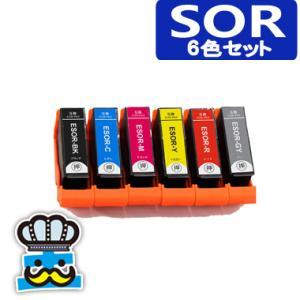 エプソン SOR 6色セット SOR-6CL ソリ EPSON プリンターインク 対応機種 EP-50V|inkoukoku
