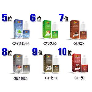 リキッド 電子タバコ VAPE 3本選択 5ml VAPOREVER  EMILI エミリ eGo AIO X6 X7 X8J  メンソール タール ニコチン0|inkoukoku|04