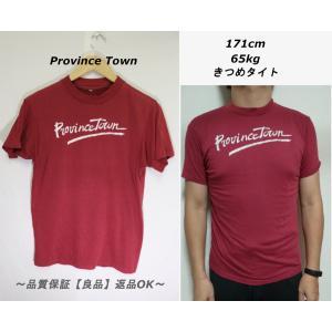 ProvinceTownプリントTシャツ/USA地名プロビンスタウンS|innocence