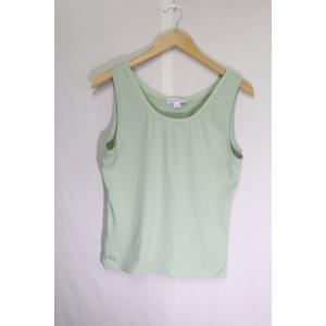 Pendletonタンクトップグリーン/綺麗なカラー高品質M|innocence