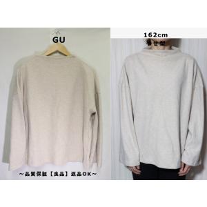 GUオーバーサイズネルカットソー/トレンドシルエットかわいい♪XL|innocence