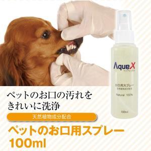 Aqua-X ペットお口専用プレースプレー【100ml】|innocent-coltd-y