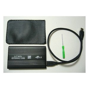 USB3.0 2.5インチ SATA用 HDDケース ブラック【メール便送料無料】 innovate