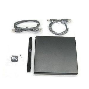 外付け USB接続 薄型CD/DVDドライブケース PATA ベゼル付 NB