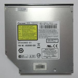pioneer ブルーレイドライブ 内蔵用 BluLay スリム型 SATA接続 BDR-TD04 ...
