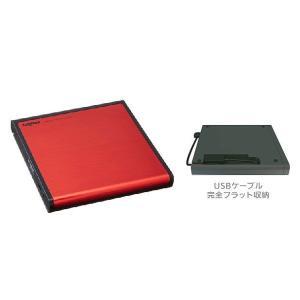 送料無料 Logitec ポータブルDVDドライブ LDR-PMH8U2LRD USB2.0