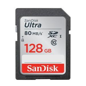 最大80MB/秒の転送速度 SanDisk製 SDXCカード 128GB ウルトラシリーズ 型番:S...
