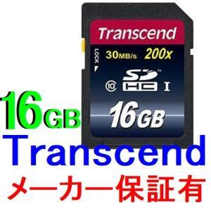 トランセンド Transcend SDHCカード 16GB クラス10 TS16GSDHC10 永久保証付【メール便可能】|innovate