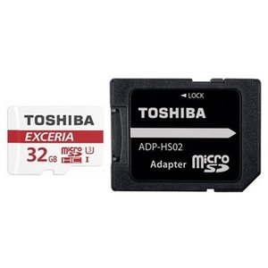 メール便可能 東芝 microSDカード 32GB クラス10 90MB/s THN-M302R0320C2 高速 EXCERIAシリーズ
