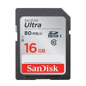 SanDisk SDHCカード 16GB クラス10 SDS...