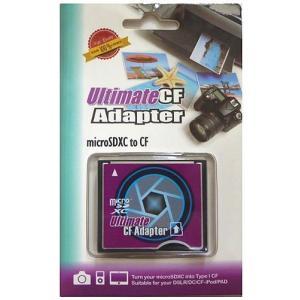 microSDカード→CFカード(タイプ1) 変換アダプタ 128GB対応【メール便可能】 innovate