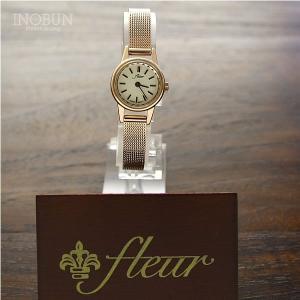 fleur フルール Hyacinth 腕時計 日本製 ピンクゴールド/メッシュバンド(ピンクゴールド)【メール便不可】|inobun|05