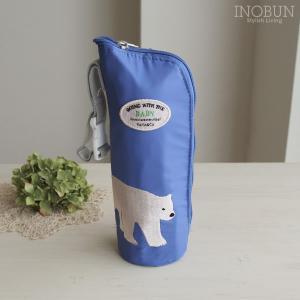 アニマル ボトル ポーチ ベビー 哺乳ビン 保冷ポーチ Lサイズ POLAR BEAR(01しろくま...