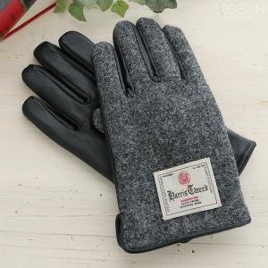 メンズ グローブ スマホ対応 N3/4E Harris Tweed ハリス・ツイード 手袋 セール ...