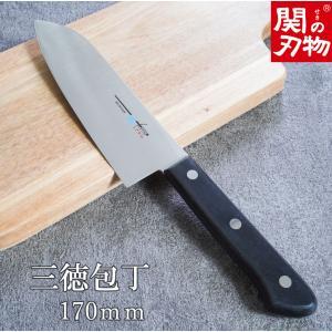 TSマダム 三徳包丁 三徳包丁は「肉」「野菜」「魚」など幅広く対応している万能包丁 日本の家庭で1番...