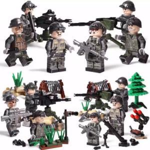 (即日配達)特殊部隊 ミリタリー  ミニフィグ 6体セット LEGO (レゴ)対応 並行輸入