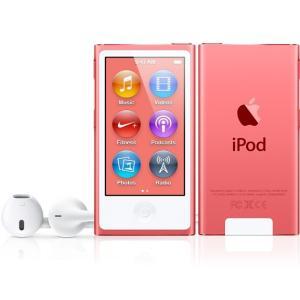 (即納)[数量限定]Apple(アップル) iPod nano 16GB ピンク 第7世代【新品/MD475J/Aの整備済製品】 inoqshop