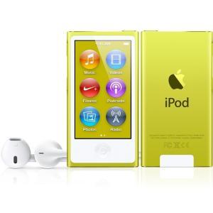 (即納)[数量限定]Apple(アップル) iPod nano 16GB イエロー 第7世代【新品/MD476J/Aの整備済製品】 inoqshop