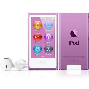 (即納)[数量限定]Apple(アップル) iPod nano 16GB パープル 第7世代【新品/MD479J/Aの整備済製品】 inoqshop