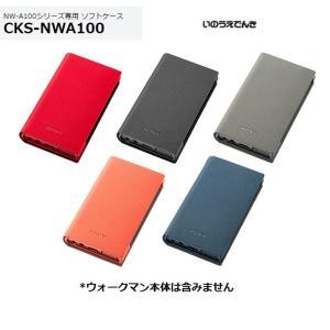 ソニー ウォークマン NW-A100シリーズ専用ソフトケース CKS-NWA100|inouedenki