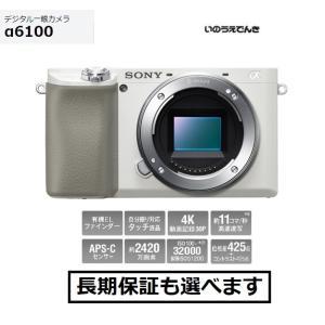 ソニー デジタル一眼カメラ ILCE-6100 (W) ホワイト ボディ|inouedenki