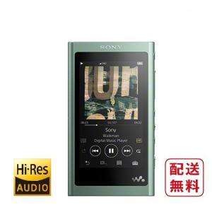 ソニー ウォークマン A50シリーズ NW-A55 (G) ホライズングリーン 16GB ハイレゾ音源対応|inouedenki