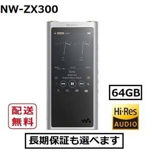 ソニー ウォークマン 本体 NW-ZX300 ...の関連商品8