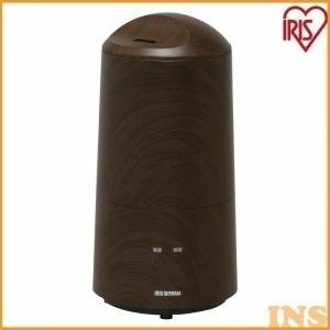 加湿器 加湿機 超音波 超音波式加湿器 樽型 ブラウン(木目調) UHM-280BM-T アイリスオーヤマ|insair-y