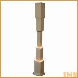 ■材質:白木 ■E17・25Wミニレフ球×1 ■商品サイズ(cm):直径約14.0x高さ約76.0 ...
