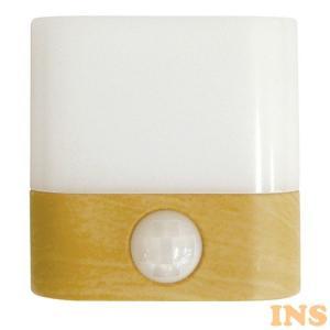 LEDセンサーライト 乾電池式 LEDSEBT4NW トップランド (D)|insair-y