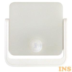 LEDセンサーライト360° 乾電池式 LEDSEBT360WT トップランド (D)|insair-y