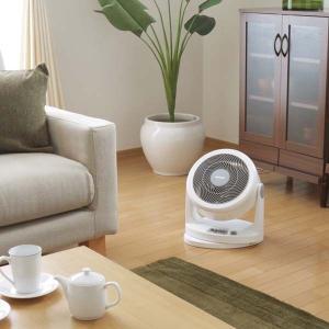 サーキュレーター 首振り 扇風機 小型 家庭用 軽量 静音 PCF-HM23-W・PCF-HM23-B アイリスオーヤマ|insair-y|02