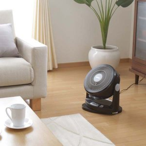 サーキュレーター 首振り 扇風機 小型 家庭用 軽量 静音 PCF-HM23-W・PCF-HM23-B アイリスオーヤマ|insair-y|03